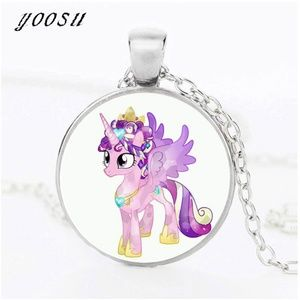 Unicorn Necklace for girls Jewelry Silver Plated
